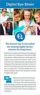 Digital Eye Strain Fact Sheet
